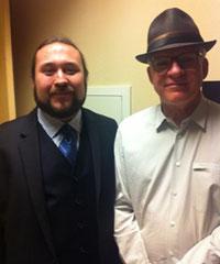 Paul with Steve Martin