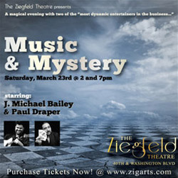Music and Mystery: Starring J. Michael Bailey and Paul Draper