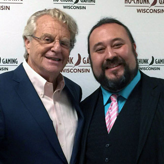 Paul Draper and Jerry Springer