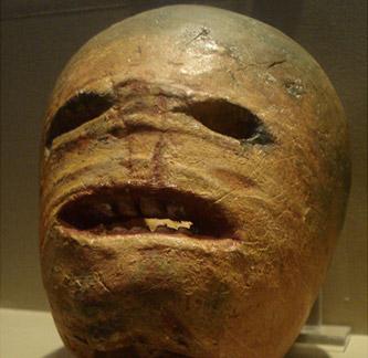 Potato Jack o' Lantern